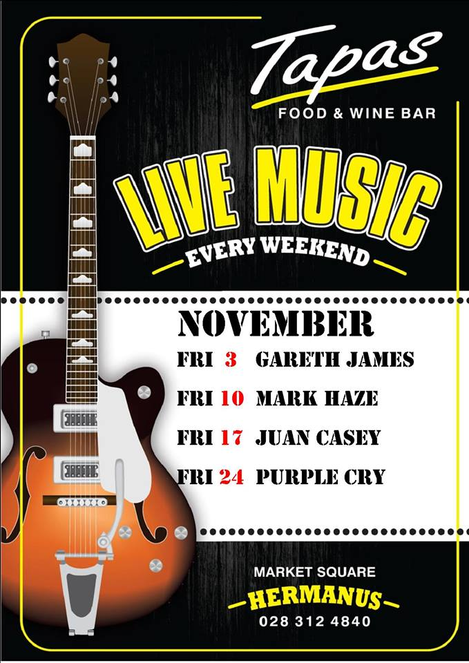 Live Music at Tapas