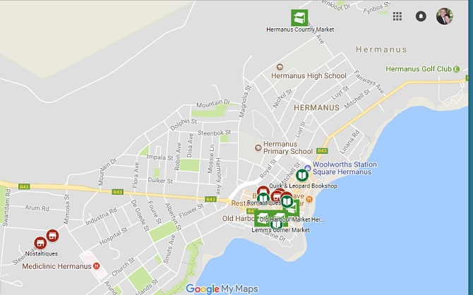 Markets and Collectors Shops in Hermanus